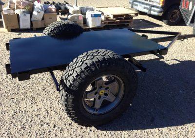 Custom Jeep Trailer